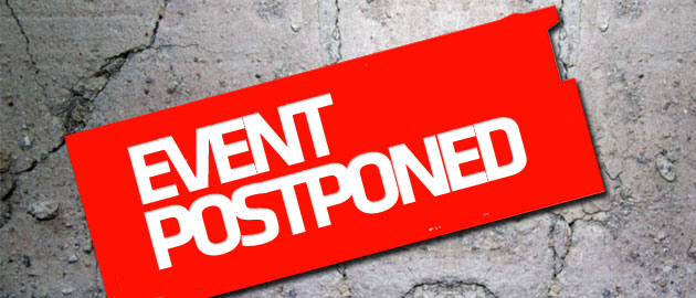 Open Day is postponed